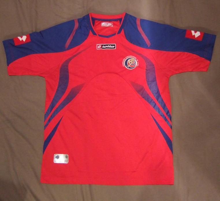Costa Rica Home football shirt 2009 - 2010. a51e38473