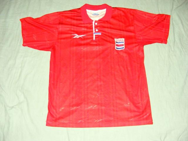 fe94bf416 Costa Rica Home Maillot de foot 1990 - 1991.