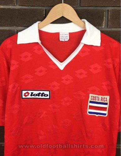 aff1371fe Costa Rica Home maglia di calcio 1990.