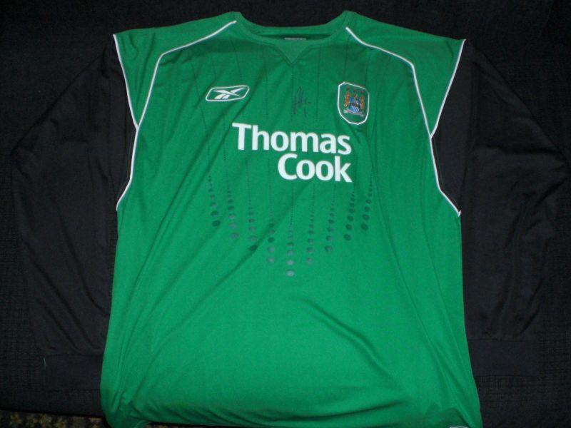 huge discount 152a0 55e31 Manchester City Goalkeeper camisa de futebol 2005 - 2006 ...