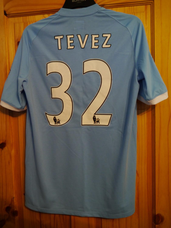fd5dee02c Manchester City Home Maillot de foot 2010 - 2011. Sponsored by Etihad