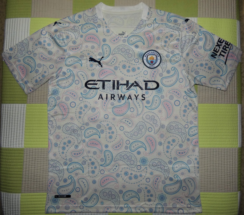 New Season Manchester City Third football shirt 2020 ...