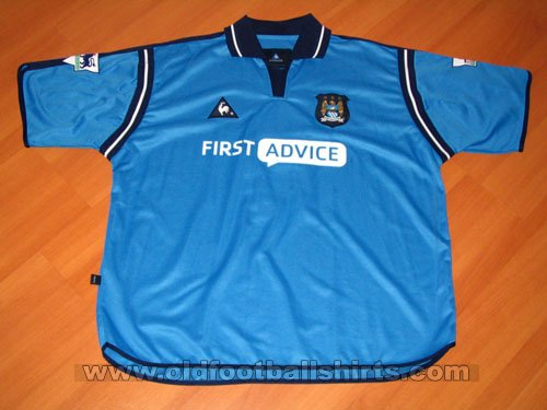 Manchester City Home football shirt 2002 - 2003