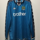 Manchester City Thuis  voetbalshirt  1997 - 1999