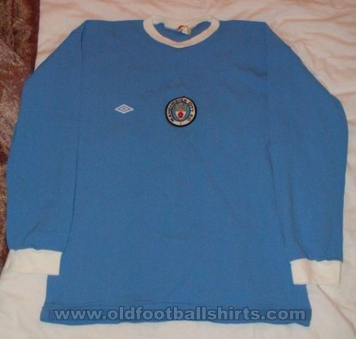 Manchester City Home football shirt 1971 - 1975
