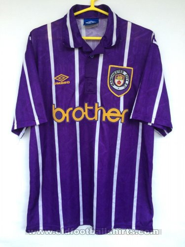 Manchester City Away football shirt 1992 - 1994