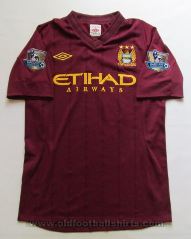 Manchester City Away football shirt 2012 - 2013