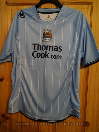 Manchester City Home football shirt 2007 - 2008
