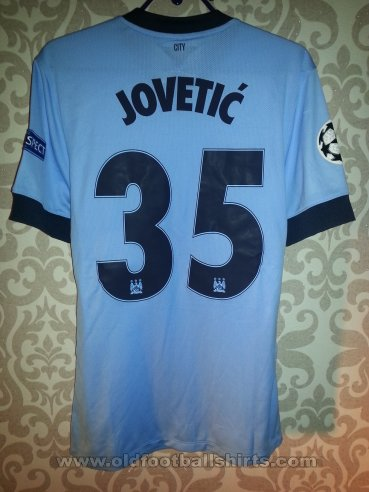 Manchester City Home football shirt 2014 - 2015