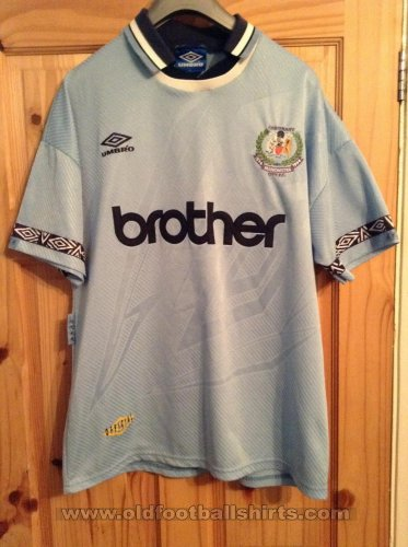 Manchester City Home football shirt 1994 - 1995
