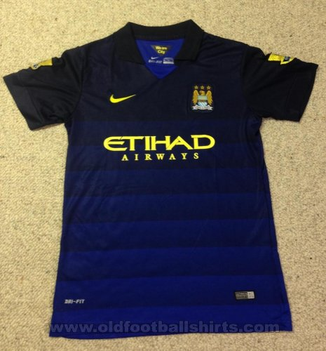 Manchester City Away football shirt 2014 - 2015