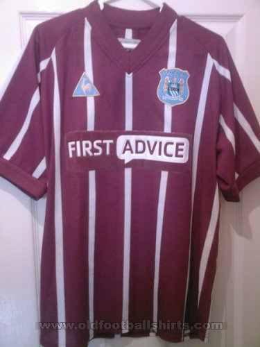 Manchester City Third football shirt 2002 - 2003