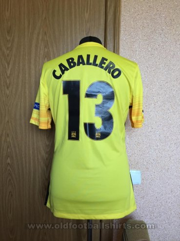 Manchester City Goalkeeper football shirt 2015 - 2016