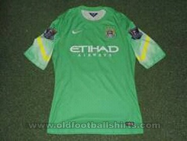Manchester City Goalkeeper football shirt 2014 - 2015