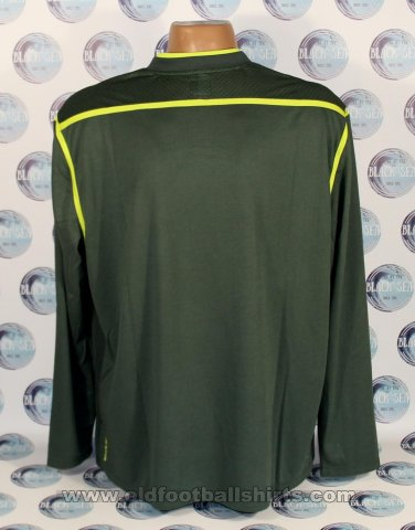 Manchester City Goalkeeper football shirt 2011 - 2012
