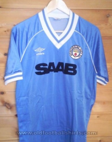 Manchester City Home football shirt 1982 - 1983