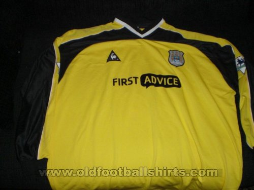 Manchester City Goalkeeper football shirt 2002 - 2003