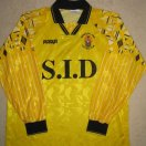 Burgess Hill Town football shirt 1995 - 1997