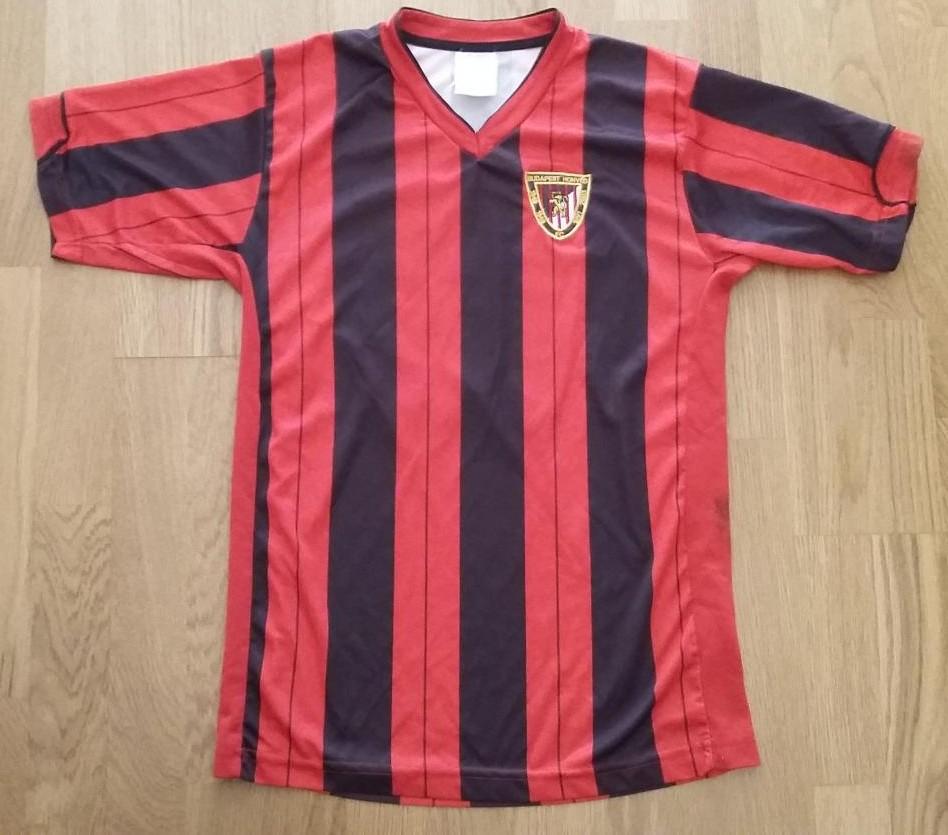 Budapest Honved FC Home football shirt 1988 - 1990