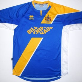 St Albans City Home Fußball-Trikots 2007 - 2008 sponsored by Bill Chippington Haulage