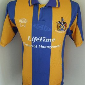 St Albans City Home Fußball-Trikots (unknown year) sponsored by Lifetime Financial Managment