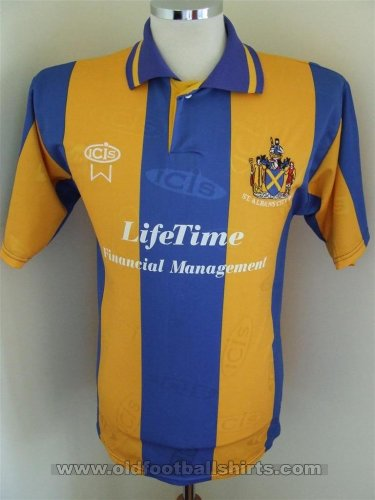 St Albans City Home baju bolasepak (unknown year)