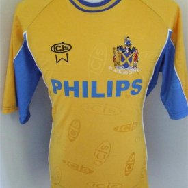 St Albans City Home Fußball-Trikots 1998 - 2000 sponsored by Philips