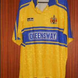 St Albans City Home Fußball-Trikots (unknown year) sponsored by Queensway