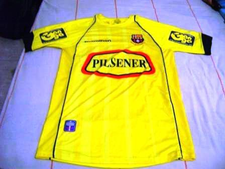 b0aec4edaf2 Barcelona SC Home Maillot de foot 2006.