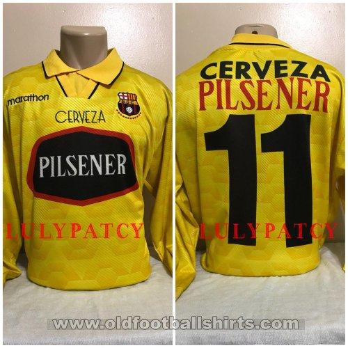 new concept 26357 0a055 Barcelona SC Home חולצת כדורגל 1996.