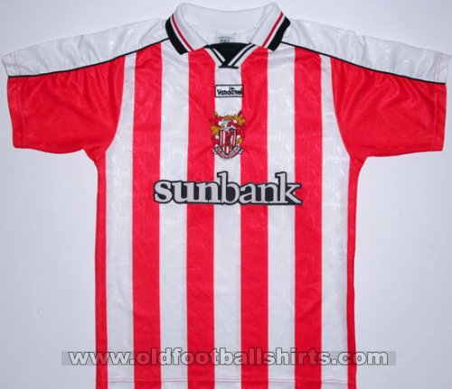 Stevenage FC Home футболка 2000 - 2002