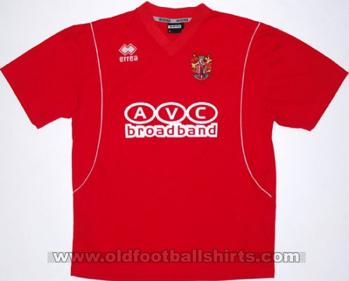 Stevenage FC Home football shirt 2005 - 2006