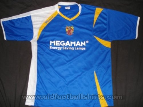 Stevenage FC Away baju bolasepak 2008 - 2010