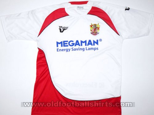 Stevenage FC Home football shirt 2009 - 2010
