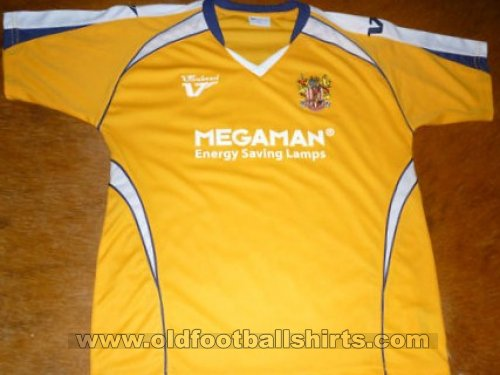 Stevenage FC Away Camiseta de Fútbol 2009 - 2010