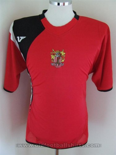 Stevenage FC Away Fußball-Trikots 2008 - 2009