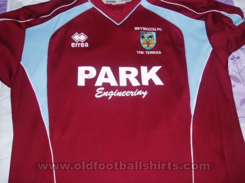 Weymouth Thuis  voetbalshirt  2005 - 2007