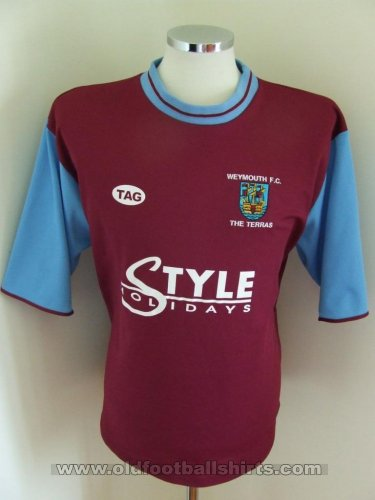 Weymouth Home football shirt (unknown year)