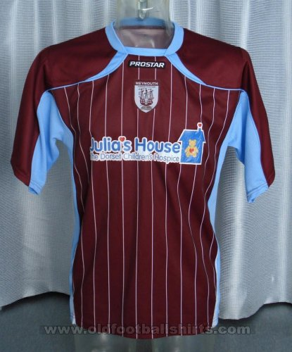 Weymouth Home voetbalshirt  2008 - ?