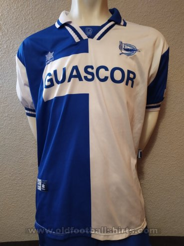 Alaves Home football shirt 2000 - 2001
