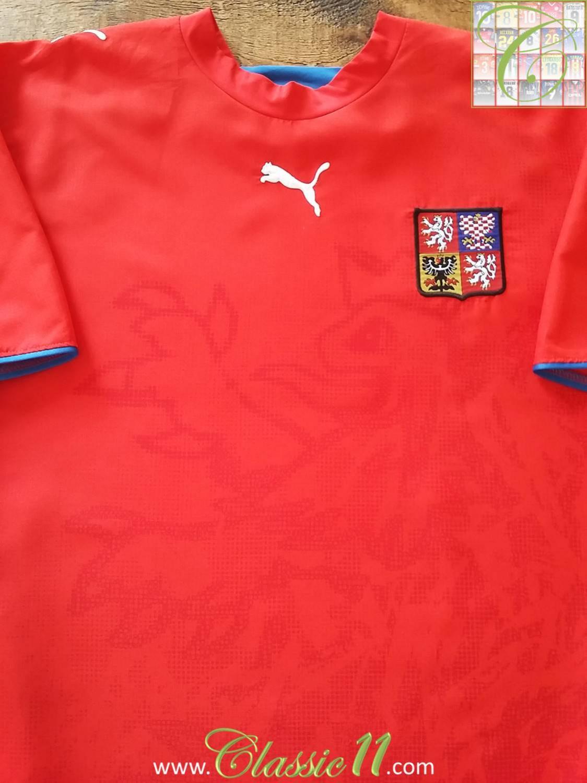 110e9ad3ac5 Czech Republic Home football shirt 2006 - 2007 ...