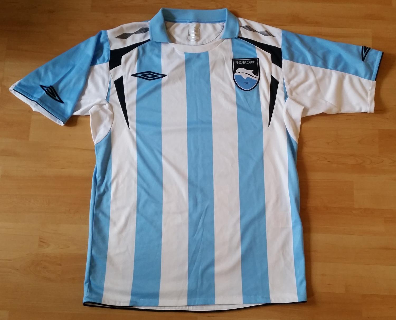 Pescara Calcio Home maglia di calcio 2008 - 2009.