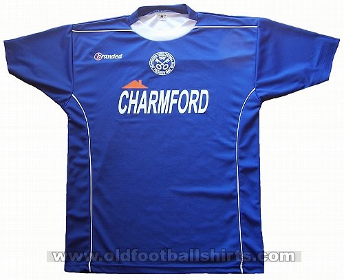 Hednesford Town Away voetbalshirt  2007 - 2008