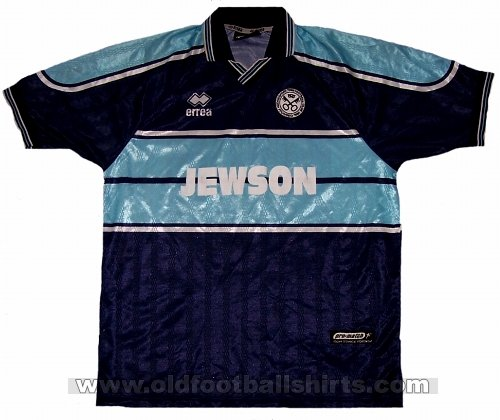 Hednesford Town Away football shirt 2000 - 2001