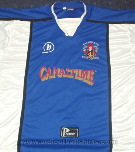 Barrow Home football shirt 2002 - 2003