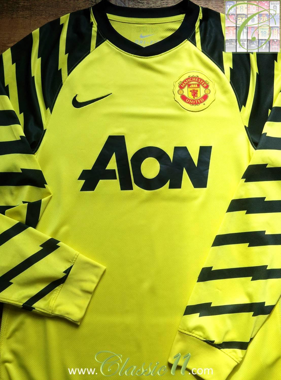 manchester united gardien de but maillot de foot 2010 2011 ajout 2013 01 15 20 19. Black Bedroom Furniture Sets. Home Design Ideas