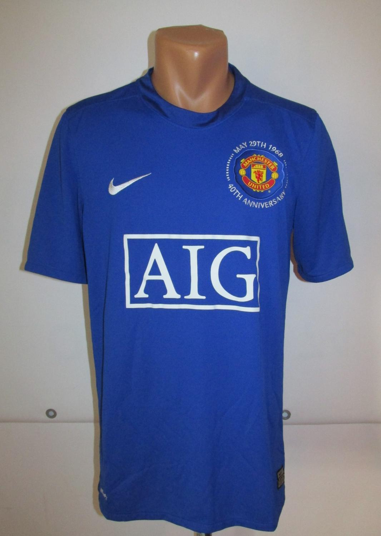 Manchester United Il Terzo maglia di calcio 2008 - 2009. Sponsored ...