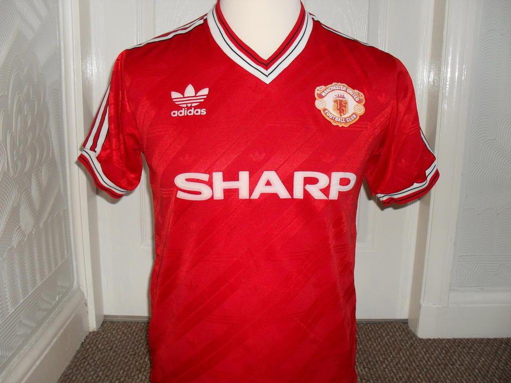 Manchester United Casa Camisa De Futebol 1986