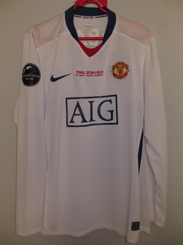 manchester united maglia da trasferta maglia di calcio 2008 2009 sponsored by aig manchester united maglia da trasferta