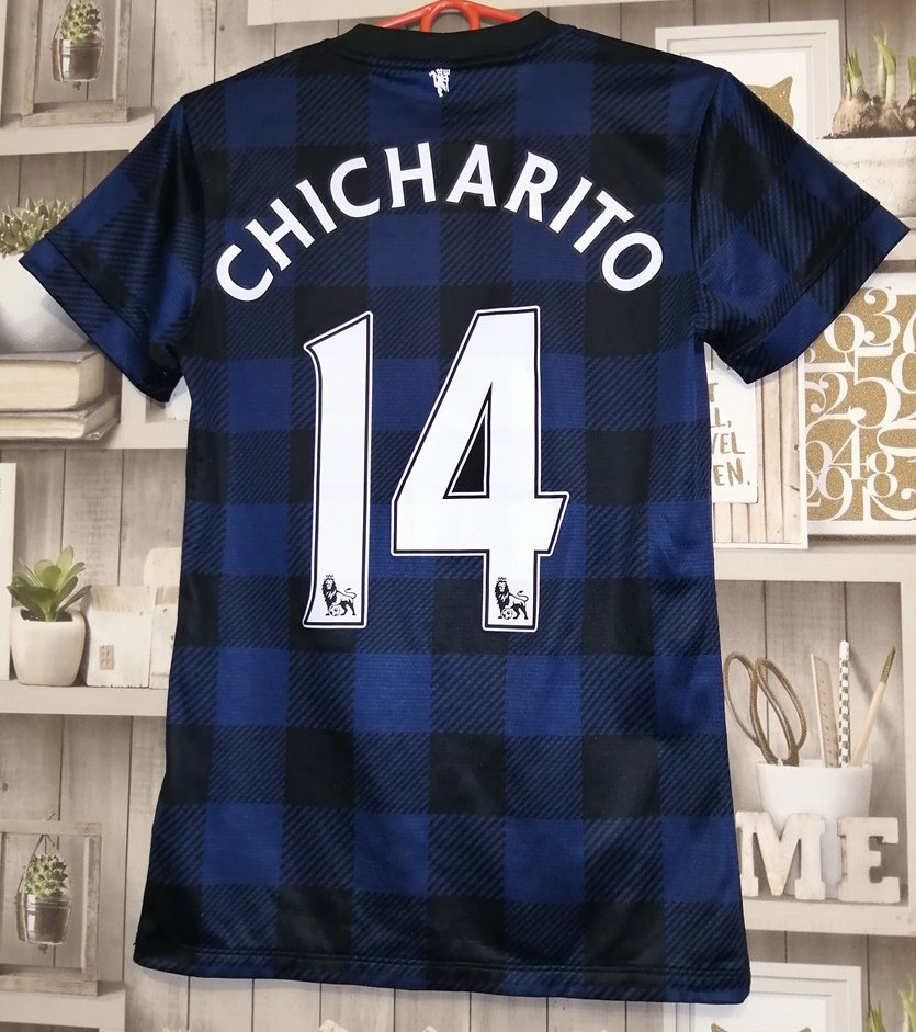 newest collection 14c99 1a421 Manchester United Away football shirt 2013 - 2014. Sponsored ...